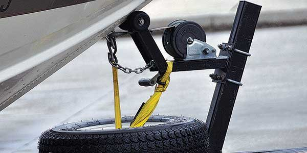 Photo of a winch strap