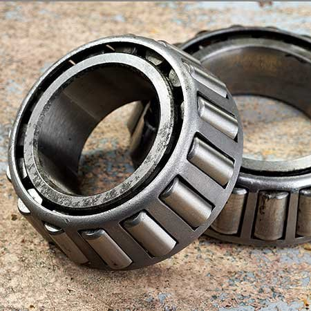 Trailer tire bearings