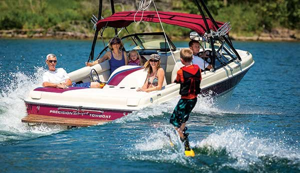 Table rock lake trailering boatus magazine for Best boat for fishing and family