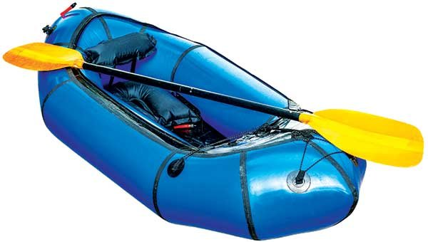 Dinghy and paddle