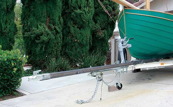 Trailer extension