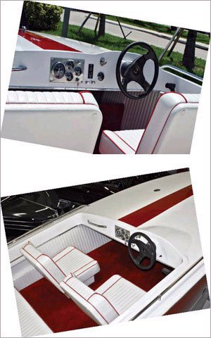 Photo of restored 1970 Sutphen Gran Sport interior