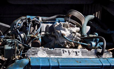 Photo of the original engine in 1970 Sutphen Gran Sport