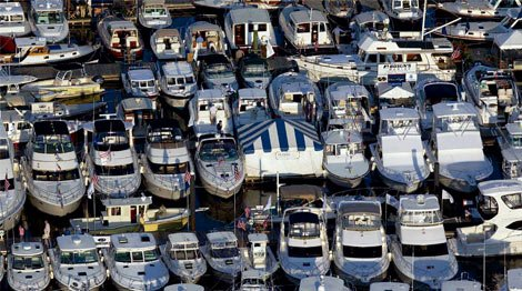 Photo of boats for sale
