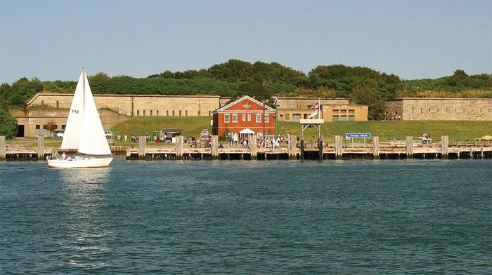 Photo of Georges Island, Boston Harbor, Massachusetts