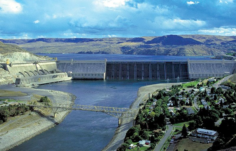 Photo of Grand Coulee Dam, Washington