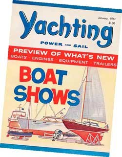 Photo of Yachting Magazine, January 1961