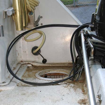Photo of a bilge pump