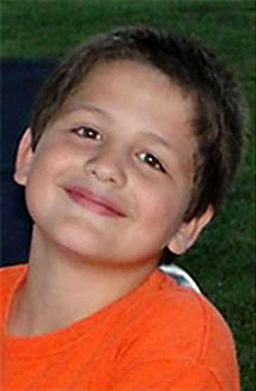 Photo of eight-year-old Brayden Anderson