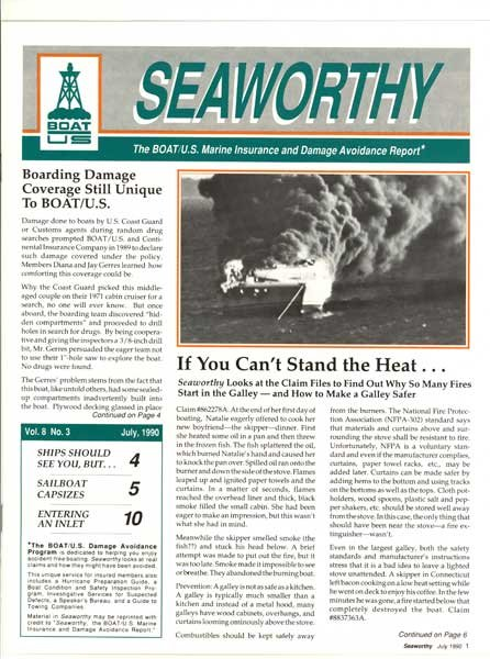 July 1990 issue of Seaworthy