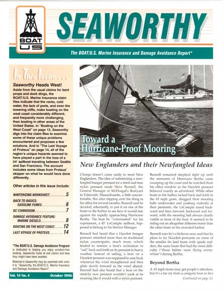 October 1996 issue of Seaworthy
