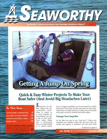 January 2012 issue of Seaworthy