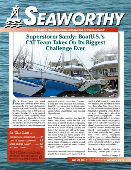 Seaworthy January 2013 Cover