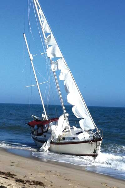 Photo of sailboat, Run Free