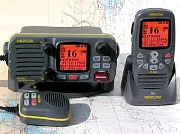 Photo of DSC radios fixed and handheld