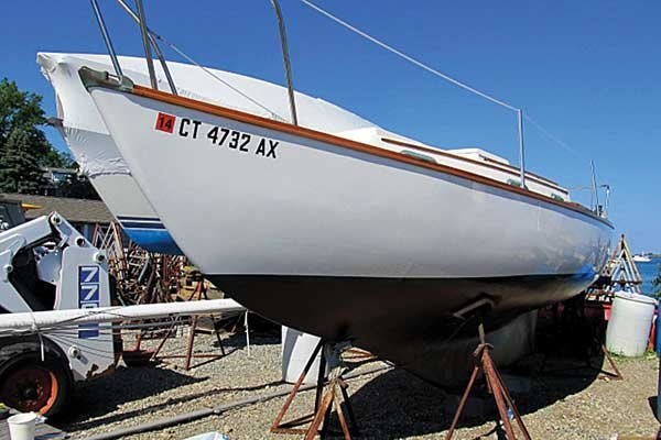 Photo of completed repairs on the Howkola II