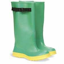 Photo of green sea boots