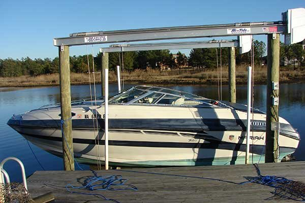 Photo of boat lift