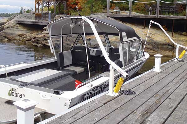 Photo of Dock Accents Wake Watcher Mooring System
