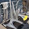 Thumbnail photo of anchors waiting to be tested