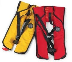 Photo of inflatable life jackets