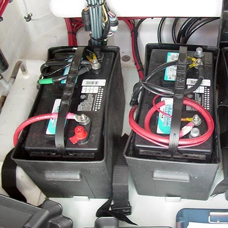 Good Battery Cable Connection on Boat Wiring Harness Diagram