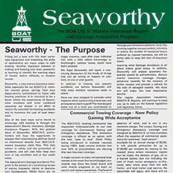 First issue Seaworthy cover