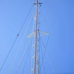 Sailboat rigging