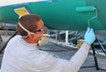Bottom painting - Boating maintenance