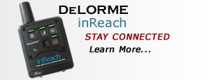 Delorme inReach - Stay Connected