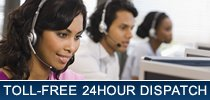 Toll-Free 24hour Dispatch