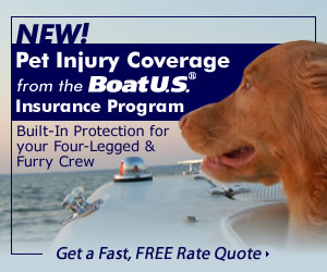 Pet Injury Coverage from BoatUS - Click for Details