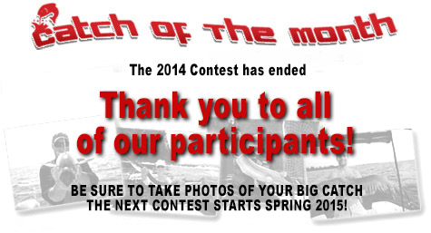 2014 Catch of the Month Grand Prize Voting
