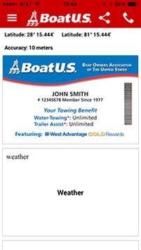 BoatUS Towing App